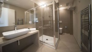 Airone City Hotel Catania Badezimmer